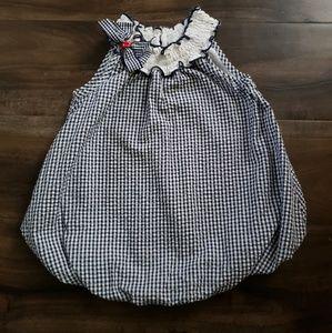 Baby girls dress/romper 24 mos